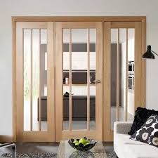 Image result for room divider oak 4 panels with centre opening