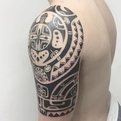 polynesian tattoos meaning strength and courage New Tattoos, Tribal Tattoos, Cool Tattoos, Tatoos, Maori Tattoos, Polynesian Tattoo Meanings, Polynesian Tattoos, Tattoos Meaning Strength, Native Symbols