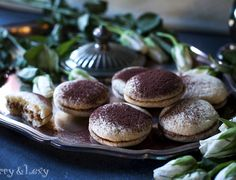 Mascarpone Sandwich Cookies
