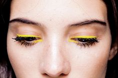 "armaniprives: "" Makeup at Kenzo Ready to Wear S/S 2013. """