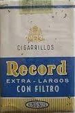 Carteles antiguos de publicidad- Cigarrillos Record
