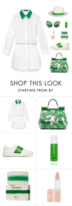 """""""Untitled #96"""" by tantisper on Polyvore featuring Alexander Wang, Dolce&Gabbana, Valentino, blow, Baxter of California, Rimmel and fresh"""