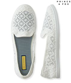 Aeropostale Women's Prince and Fox Crochet Slip-On Shoe ** You can find more details by visiting the image link.