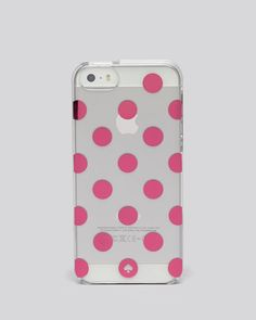 kate spade new york iPhone 5/5s Case - Resin Le Pavillion Clear