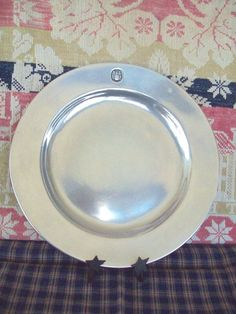 Three Armetale Wilton  Plates 10.5 Diameter Gently Used