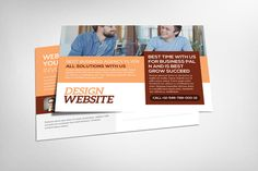 Website Design Business Postcard by Party Flyers on @creativework247