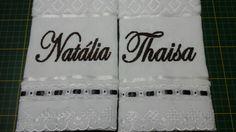Toalhas lavabo para madrinhas R$ 25,00 a unidade