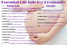 List of Essential Oils that are safe for pregnancy