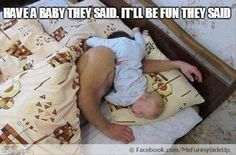 real life, funny pictures, funni, baby memes, baby daddy, parent, babi, sleep, kid