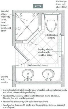31 best Bathroom floor plans images on Pinterest