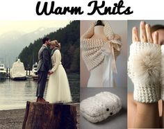 Gloves for the bride..i know these arent exactly your style, but i thought the idea was cute