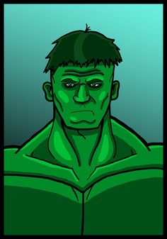 #HULK #Animated #Fan #Art. (Hulk Chillin) By:HolmzMcJonz777. ÅWESOMENESS!!!™ ÅÅÅ+