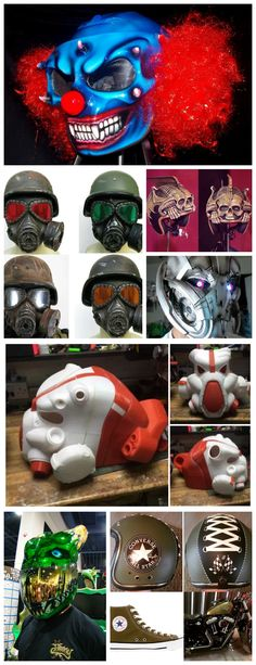 Creative Motorcycle Helmets Collection 1