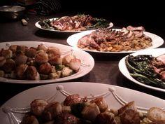 Milwaukee: family-style dining