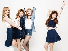 Mamamoo for Women's Central Magazine