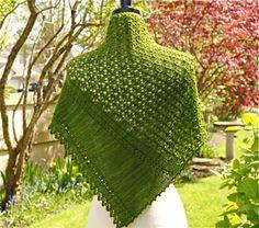 Ravelry: Sonetto Shawl pattern by Judy Marples