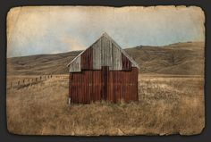 Rustic Retreat by Nathan Secker - prints Principles Of Art, Down On The Farm, Ansel Adams, Spring 2014, Sheds, Barns, New Zealand, Art Gallery, Houses