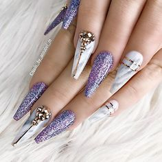 2,438 отметок «Нравится», 7 комментариев — NAIL INSPO (@theglitternail) в Instagram: «: Picture and Nail Design by •• @nails_by_annabel_m •• Follow @nails_by_annabel_m for more…»