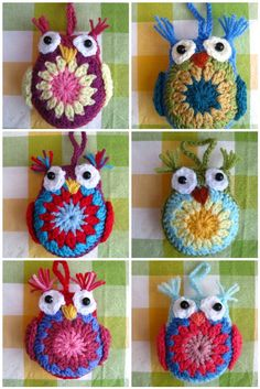 Bunny Mummy: Easy Crochet Owl Tutorial  Seriously, the best crochet tutorial ever!  I am making 9 of these for the party, for an Adopt-an-owl thing.  Bodies very quick to crochet after you've done one.