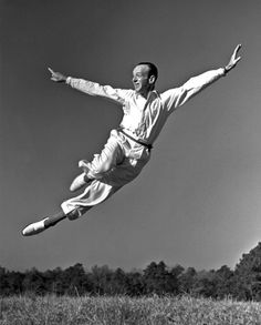 FRED ASTAIRE    Dance legend and Hollywood heavyweight Fred Astaire, one of the first men inducted into the Hall of Fame, made the leap in 1968.