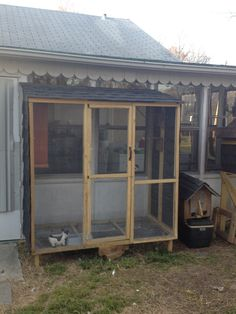 this is my pigeon loft that i made, very easy to make.