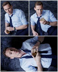 Tom Hiddleston by Charlie Gray.