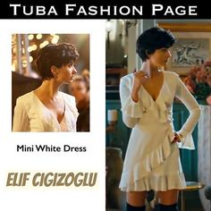 Pixie Styles, Short Hair Styles, Human Poses Reference, Turkish Beauty, White Mini Dress, Wedding Hairstyles, Celebrity Style, Summer Dresses, Celebrities