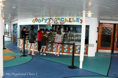 Dining Aboard the Disney Wonder