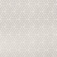 Papier peint géométrique gris MEDINA - Thibaut - Au fil des Couleurs