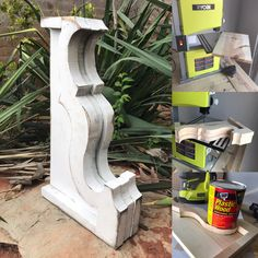 DIY Tutotorial on how to make this Corbel with a Ryobi Band Saw