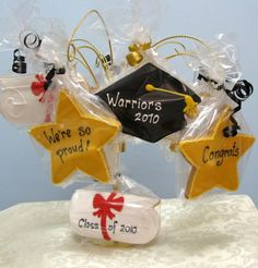 Graduation Centerpieces - 10 Cookies $47.50