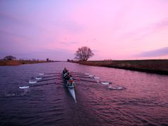 The Cambridge University Boat Club Women's crew head out before sunrise to train on the River Great Ouse ahead of this years 2016 Cancer Research UK University Boat Race on Feb. 17, 2016, in Ely, England.  Richard Heathcote, Getty Images