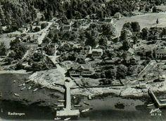 Buskerud fylke Hurum kommune Rødtangen brukt 1960 Utg Harstad forlag