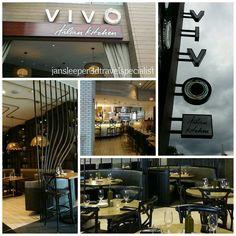 Delicious food and great service at Vivo Italian Kitchen in CityWalk. #3DJAN #3DTC #conciergevacationplanning #universalorlando #familytravel #universalforadults