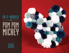 disney crafts In need of a little Disney Parks magic to keep your little ones busy this week? Check out our latest DIY tutorial on how you can make a mini Mickey Holiday Wreath for your Disney Christmas Crafts, Disney Christmas Decorations, Disney Diy Crafts, Disney Home Decor, Pom Pom Crafts, Yarn Crafts, Wreath Crafts, Crafts For Seniors, Crafts For Kids