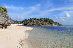 A deserted beach in Nemberala, Rote Island, Indonesia