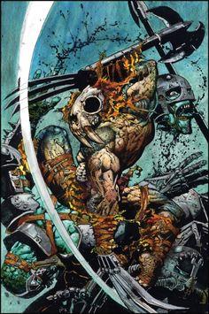 Simon Bisley - Comic Art Member Gallery Results - Page 46 Simon Bisley, Marvel Comics, Horror Comics, Jordi Bernet, Heavy Metal Art, Bad Art, Metal Magazine, Dark Fantasy Art, Fantastic Art