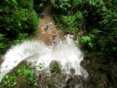 top things to do in la fortuna and arenal - canyoning or waterfall rappelling