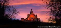 #Magico #tramonto #bolognese #SanLuca