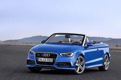 Novo Audi A3 Cabriolet é uma das estrelas do Salão de Frankfurt