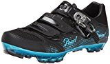 Pearl Izumi – Ride Women's W X-project 3.0 Cycling Shoe,Black/Black,43 EU/10.8 D US   Full-length tapered composite plate (Patent-pending) gives on-the-bike power transfer and off-the-bike hike-ability 1:1 anatomic buckle closure features a 25-degree angled strap design that follows...