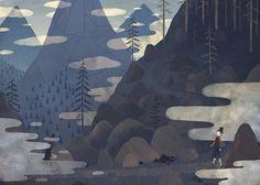 Fantastic illustration by Chuck Groenink: http://cargocollective.com/greenink