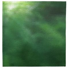 Emerald Green Explosion Of Color Abstract Printed Napkins