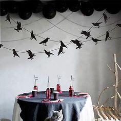 Halloween Prop, Halloween Party Supplies, Cheap Halloween, Outdoor Halloween, Halloween Party Decor, Halloween Ghosts, Happy Halloween, Paper Bunting, Homemade Halloween Decorations