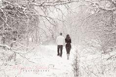 Charlie + Miranda | Winter Wonderland Engagement Session » Alysson Copeland Photography