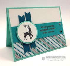 Stampin up stampinup pretty stamp it mary fish circle framelits big shot warmth and wonder &