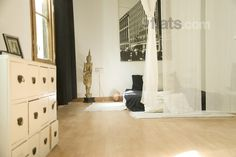 Share a flat with Spanish host Olga in the gothic center of Barcelona. The room is 30m², has a terrace and lets in lots of light. Previous guests have only said positive things about Olga and her other flatmate Ugo. €35/night for 3 people