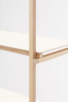 Minimalistic product design in wood Unique Furniture, Furniture Making, Wood Furniture, Furniture Design, Woodworking Furniture, Fine Woodworking, Woodworking Projects, Youtube Woodworking, Joinery Details