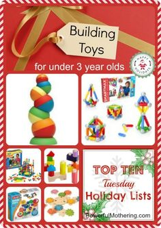 Top 10 Lists: Building Toys for under 3 year olds Building Toys For Toddlers, Educational Toys For Toddlers, Toddler Preschool, Toddler Toys, Kids Toys, 4 Kids, Craft Activities For Kids, Crafts For Kids, Stem Activities