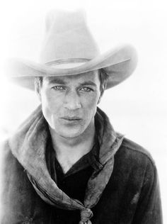Gary Cooper, 1926, publicity photo for The Winning of Barbara Worth